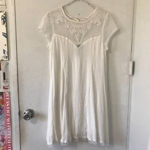 Trixxi White Dress